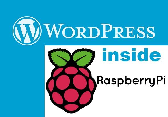 Installing Wordpress in RaspberryPi using Apache server