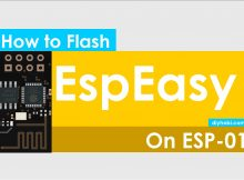 Programming Flash ESP-01 with EspEasy