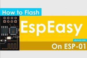 Programming Flash ESP-01 with EspEasy