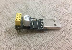 Flash Program ESP-01 using USB Serial Adapter – Do it your