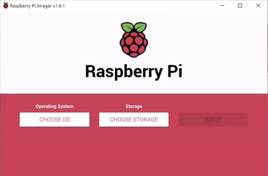 raspberry pi imager program
