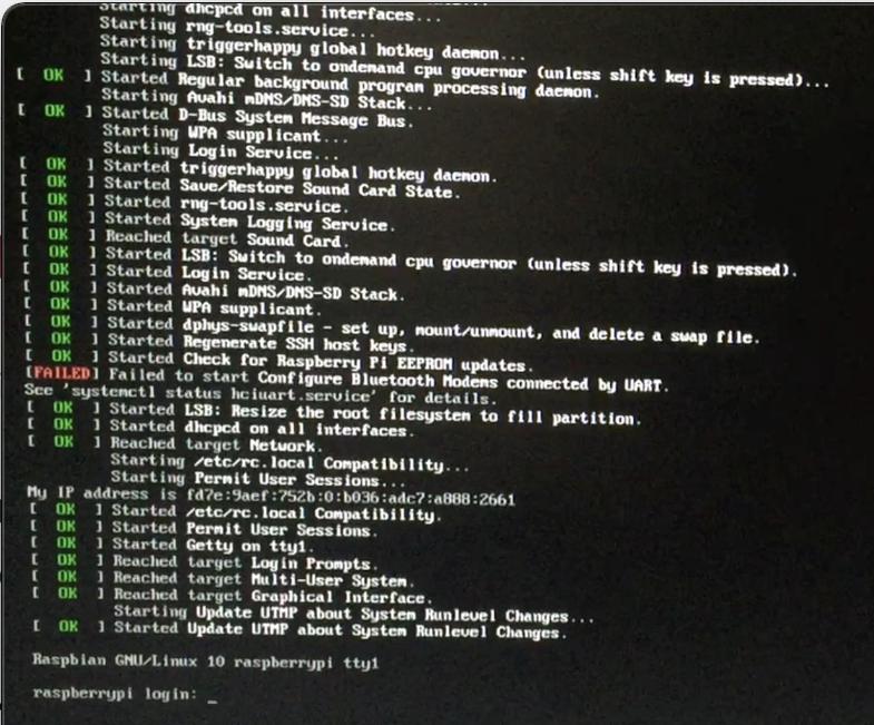 raspberry pi 4 login